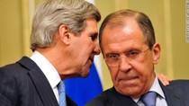 John Kerry gặp Lavrov sau khi Nga rút quân khỏi biên giới với Ukraine