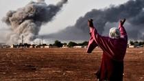 IS tiến sát trung tâm Kobani, người Kurd cầu viện đồng bào ở Iraq