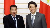 Duterte cân bằng quan hệ với Trung Quốc và Nhật Bản trong vấn đề Biển Đông