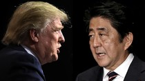 Châu Á hồi hộp chờ đợi cuộc gặp Donald Trump - Shinzo Abe