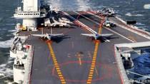 Trung Quốc điều cụm tàu sân bay Liêu Ninh chạy qua eo biển Đài Loan