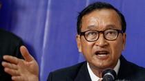 Ông Sam Rainsy từ chức Chủ tịch đảng đối lập Campuchia