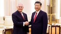 """Mỹ - Trung đạt được """"cái gì đó"""" sau khi ông Tillerson gặp ông Tập Cận Bình"""