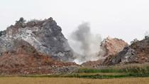 Núp bóng phục hồi môi trường mỏ, rầm rộ nổ mìn khai thác đá trái phép