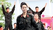 Chùm ảnh: Duyệt binh, khai giảng hoành tráng tại Học viện Cảnh sát