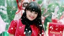 Hotgirl Khánh Chi hóa thân thành công chúa tuyết
