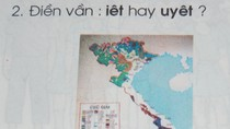 Sách Tiếng Việt lớp 1 'quên' quần đảo Hoàng Sa, Trường Sa?
