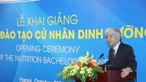Cử nhân dinh dưỡng: Bước tiến đột phá cho ngành dinh dưỡng Việt Nam
