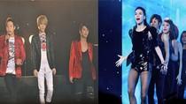 Hà Hồ cùng 3 mỹ nam Hàn khiến 4000 khán giả Hà Nội hò hét lạc giọng