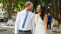 Rò rỉ ảnh cưới lãng mạn của Hoa hậu Ngô Phương Lan với chồng Tây