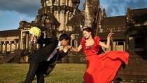 Ảnh cưới Vũ Thu Phương tại kỳ quan Angkor Wat