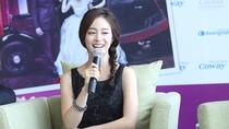 Kim Tae Hee lấy vải che chân vì sợ hớ hênh