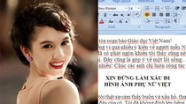 Cô giáo Đắk Lắk viết thư gửi Ngọc Trinh: Đừng làm mất mặt phụ nữ Việt!