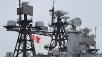 """Cận cảnh tàu chống ngầm """"Đô đốc Panteleev"""" của Nga tới Đà Nẵng"""