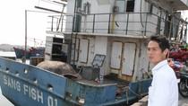 Hình ảnh hư hỏng trên tàu cá Sang Fish 01 bị ngư dân trả lại nhà máy