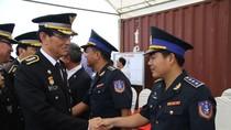 Cảnh sát biển Việt Nam - Hàn Quốc trao đổi kinh nghiệm chống cướp biển
