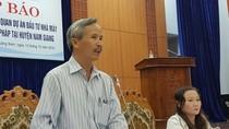Trang thiết bị của nhà máy luyện cán thép Việt - Pháp được nhập từ Trung Quốc