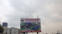 """""""Vòi rồng"""" xuất hiện tại Nhà máy xi măng Trung Sơn, Hòa Bình"""