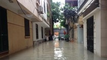Cả tổ dân phố giữa Thủ đô khốn khổ vì ống thoát nước của Công ty CCIC