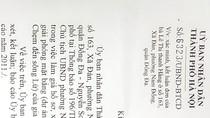 """Thanh tra Hà Nội """"bớt xén"""" nội dung đơn, đưa Chủ tịch quận vào """"vùng cấm"""" xử lý?"""
