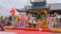 Tôn tượng Phật ngọc Thích Ca Mâu Ni đến với đất Tổ Phú Thọ