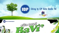 Công ty CP Sữa Quốc tế IDP tặng 5 thùng sữa Ba Vì (đợt 27)