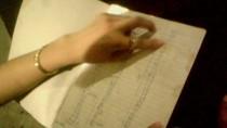 """Tận mắt từng trang """"nhật ký chấm công"""" của gái bán dâm ở Quất Lâm"""