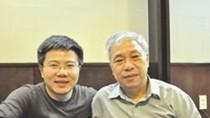 """GS Ngô Bảo Châu """"phỏng vấn"""" GS Hà Huy Khoái về toán học"""