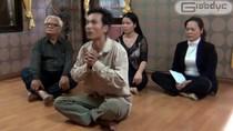 """Video:""""Nhà ngoại cảm"""" tự phong... điều khiển Thần thổ địa tìm mộ"""