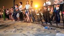 """Chùm ảnh: Mỹ Đình ngập rác sau Lễ trao chứng nhận """"Guinness Việt Nam"""""""