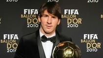Messi đã được trao Quả bóng Vàng 2011