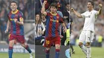 Messi, Xavi và Ronaldo lọt vào 'chung khảo' Quả bóng Vàng