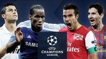 Chùm ảnh ấn tượng về các cặp đấu knock-out Champions League