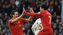 Liverpool 5 - 0 Swansea: The Kop leo lên vị trí thứ 7