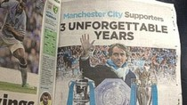 Roberto Mancini mua hẳn một trang quảng cáo để cảm ơn fan Man City