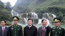 Chủ tịch nước dặn dò khi thăm thác Bản Giốc