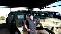 Uruguay trang bị 3 xe bọc thép Tiger cho Guardia Metropolitana