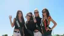 Phan Thị Mơ tươi tắn tại Miss Earth