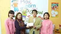 Trường Vietkids ủng hộ 2100 bữa cơm có thịt cho HS Chí Viễn