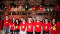 Biển Đông: Xúc động MV 'Tiến quân ca' hơn 1000 người tham gia