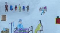 Tranh dự thi của Minh Nhật, lớp 5I, Tiểu học Dịch Vọng A (MS: 119)