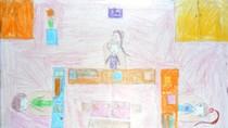 Tranh dự thi của Anh Thư, lớp 4B, Tiểu học Dịch Vọng A(MS: 146)