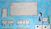 Tranh dự thi của Hải Dương, lớp 4B, Tiểu học Dịch Vọng A(MS: 151)