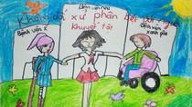 Tranh dự thi của Ngọc Chi, lớp 5A9, Tiểu học Đoàn Thị Điểm (MS: 171)