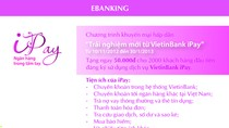 Trải nghiệm mới từ VietinBank iPay
