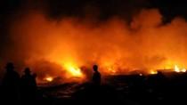 Cháy nhà máy sản xuất Diana, 4000 mét vuông nhà xưởng bị thiêu rụi