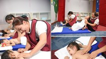 Phương pháp Massage cho trẻ dưới 36 tháng tuổi tại trường Mầm non STEAMe GARTEN