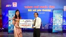 Vietcombank ủng hộ 2 tỷ đồng cho chương trình phát huy truyền thống nhân ái
