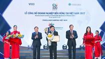 FrieslandCampina Việt Nam vinh dự xếp hạng doanh nghiệp phát triển bền vững 2017