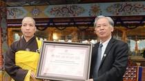 Tranh Mandala Phật đá quý tiếp tục đề cử xác lập kỷ lục châu Á